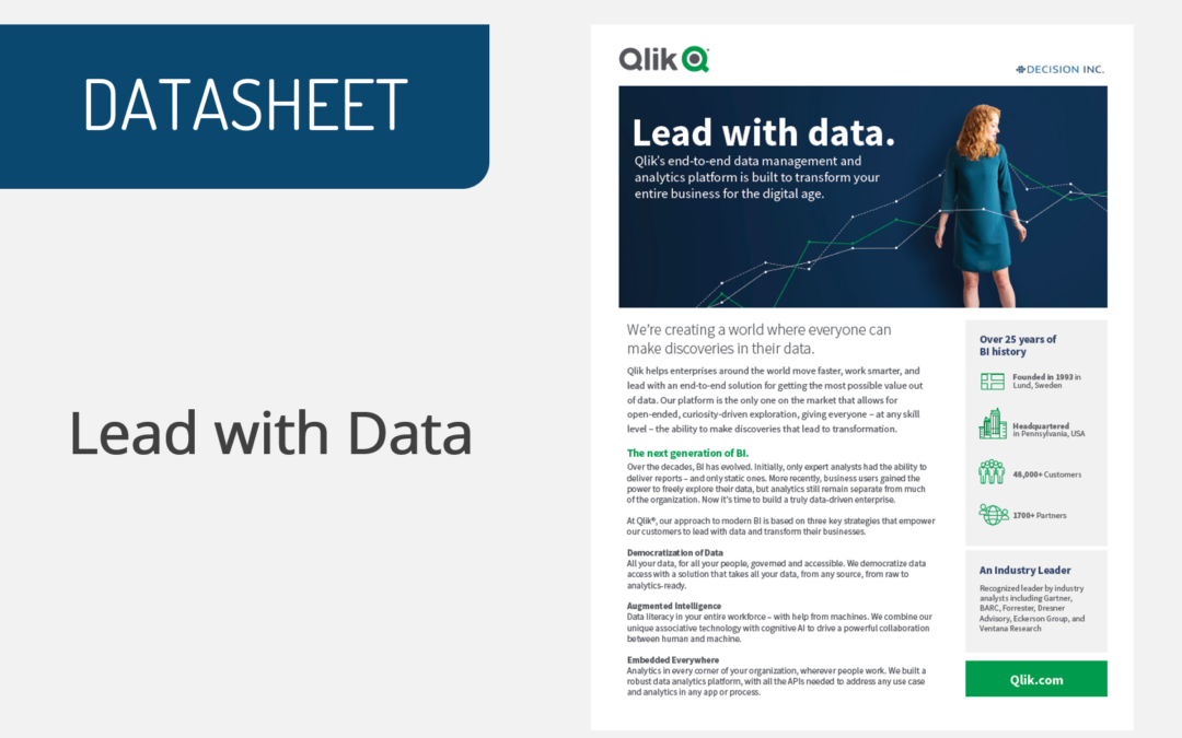 Lead with Data