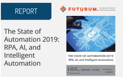 The State of Automation 2019: RPA, AI, and Intelligent Automation