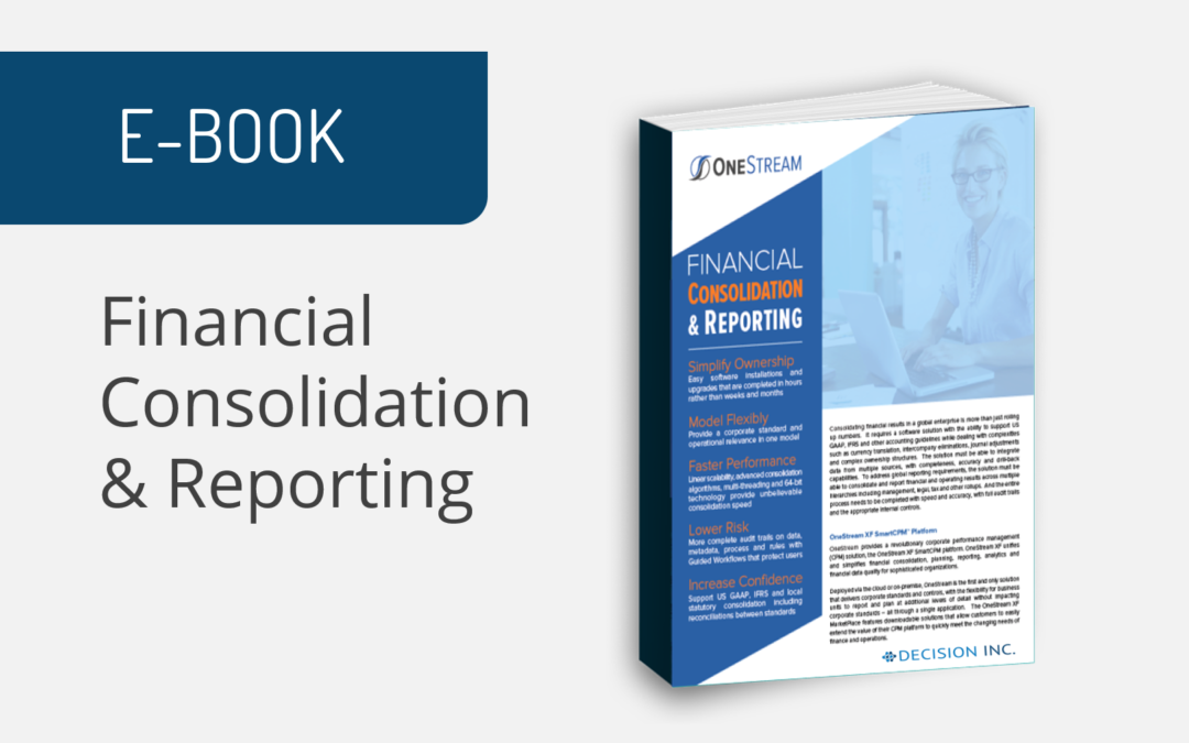 E-book: Financial Consolidation & Reporting
