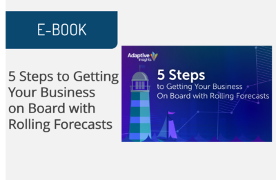 5 Steps to Getting Your Business on Board with Rolling Forecasts