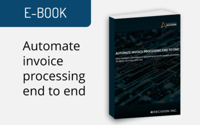 Automate invoice processing end to end