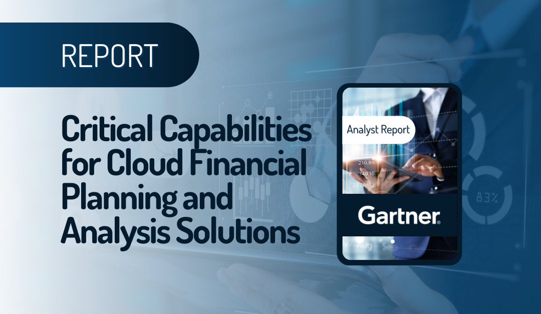 Critical Capabilities for Cloud Financial Planning and Analysis Solutions