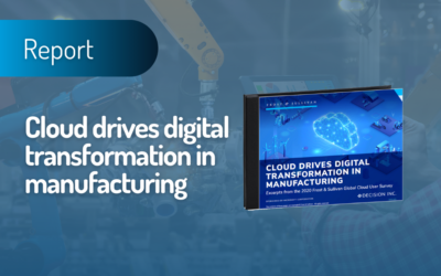 Cloud drives digital transformation in manufacturing