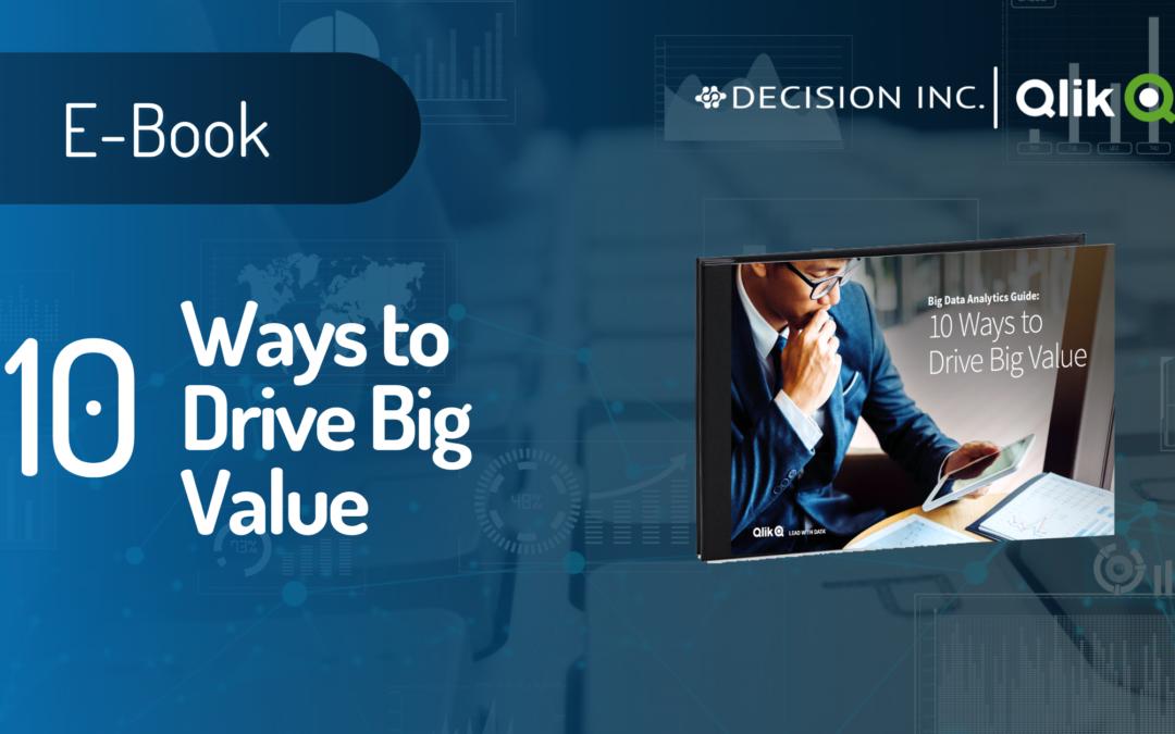 10 Ways to drive big value