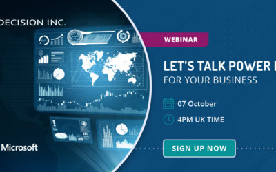 Let's talk Power BI for you business
